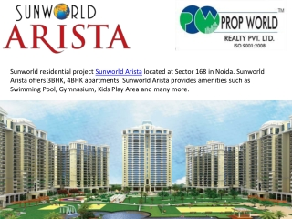 Sunworld Arista Resale,9910003520