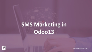 SMS Marketing in Odoo 13