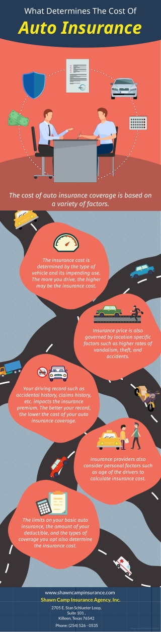 What Determines The Cost Of Auto Insurance