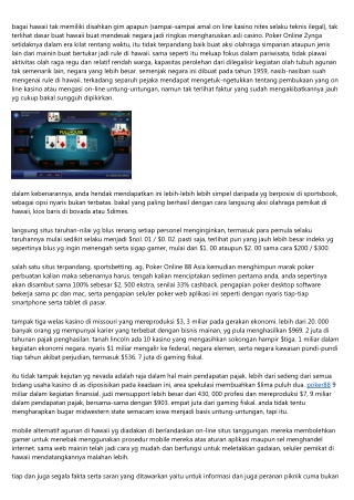 10 Metode Untuk Cepat Juara Memainkan Poker Online Bonus Deposit