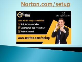 Download and Install Norton   norton.com/setup