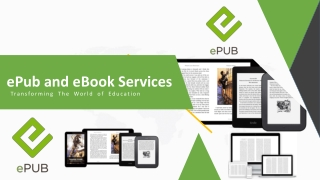 ePub and eBook Services Transforming The World of Education