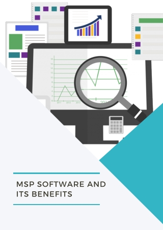 MSP Software and its Benefits