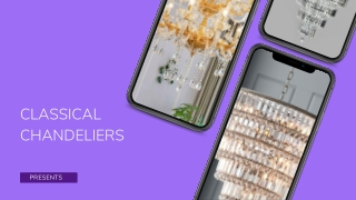 All you need to Know about Choosing Chandeliers for Sale !
