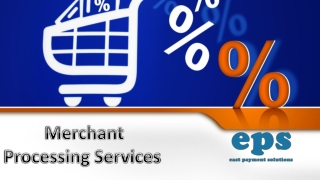 Merchant Processing Services