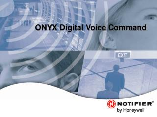 ONYX Digital Voice Command