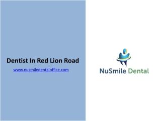 Dentist In Red Lion Road - Nusmile Dental Office
