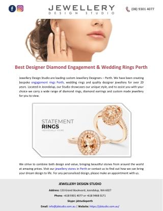 Best Designer Diamond Engagement & Wedding Rings Perth
