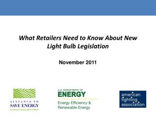 What Retailers Need to Know About New Light Bulb Legislation