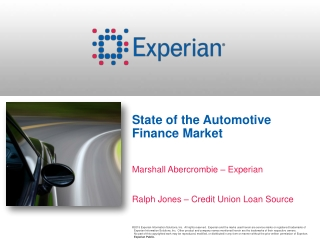 AUTO       FINANCE      INDUSTRY              AN OVERVIEW