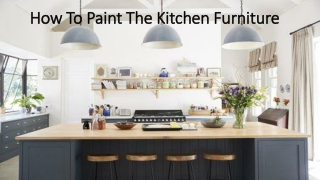 Kitchen furniture paint ideas, tools for painting cabinet