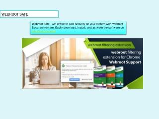Webroot Safe - Download And Install Webroot - webroot.com/safe