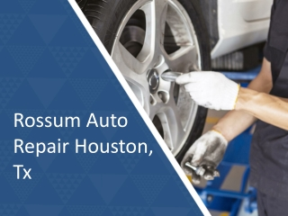 Avail Quality Service with a Reputed Auto Repair Shop