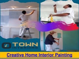 Creative Home Interior Painting