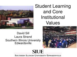Student Learning and Core Institutional Values