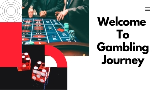 Welcome To Gambling Journey PDf