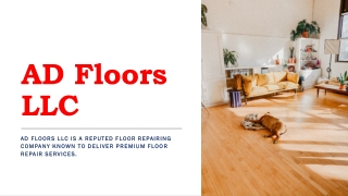 Floor Repair Company Near Me Bowie MD