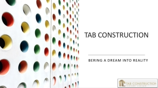 TAB CONSTRUCTION