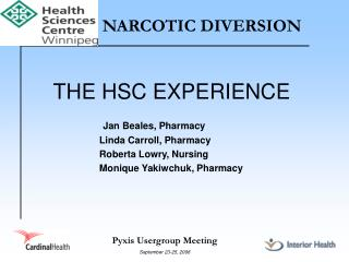 NARCOTIC DIVERSION