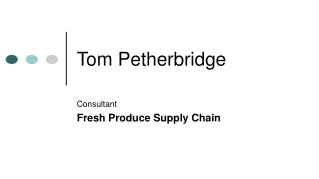 Tom Petherbridge