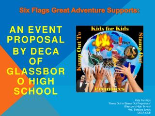 An Event Proposal By DECA of Glassboro High School