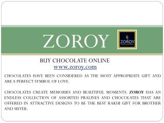 Buy Rakhi with Chocolates Online