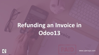 Refunding an Invoice in Odoo 13