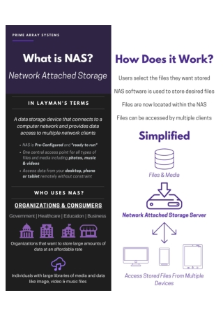 What is Network Attached Storage (NAS)? – PrimeArray