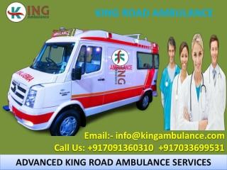 Ground Ambulance Service in Patna and Bhagalpur by King Ambulance