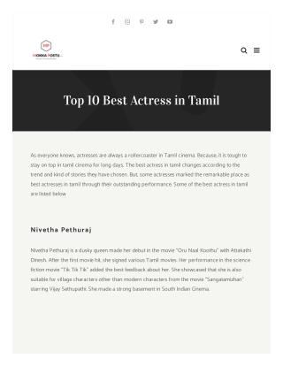 Best Actors in Tamil Cinema   Kollywood best actors