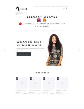 Elegant Weaves - Human hair weave bundels