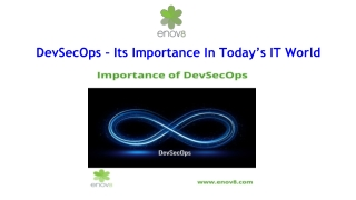 DevSecOps – Its Importance In Today's IT World