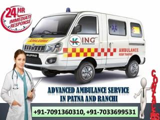 Utilize Highly Developed Ambulance Service in Patna by King