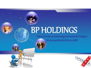 bp holdings press releases and news articles, Explorer Mike