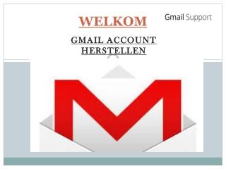 Gmail Account Herstellen