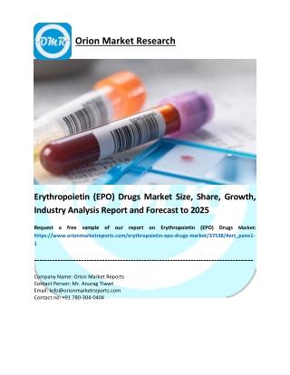 Erythropoietin (EPO) Drugs Market