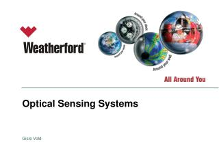 Optical Sensing Systems