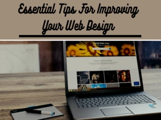 Essential Tips for Improving Your Web Design
