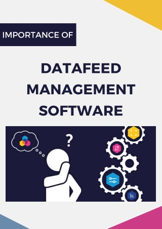 Importance of DataFeed Management Software