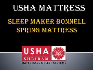 Usha Shriram Sleep Maker Bonnell Spring Mattress