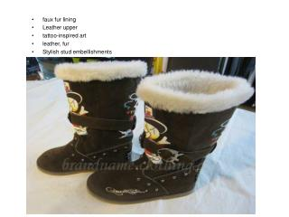 Ed Hardy Boots Cindy Coffee