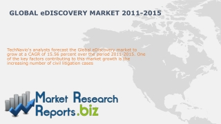 Global eDiscovery Market 2011-2015