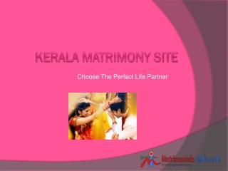 Kerala Matrimony Site