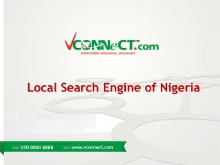 Local Search Engine of Nigeria
