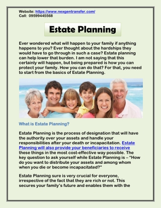 Need to Start From the Basics of Estate Planning - Power of Attorney