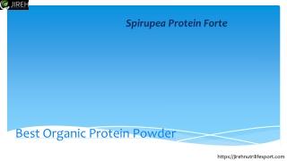 Vegan Protein Powder | Pea Protein Powder