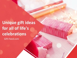 Unique gift ideas less than $30 for all of life's celebrations