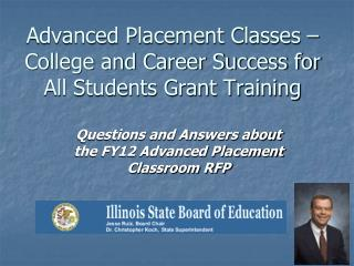 Advanced Placement Classes   College and Career Success for All Students Grant Training