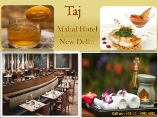 Experience Magnetic Hospitality from Taj Mahal Hotels New De