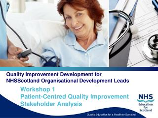 Quality Improvement Development for NHSScotland Organisational Development Leads